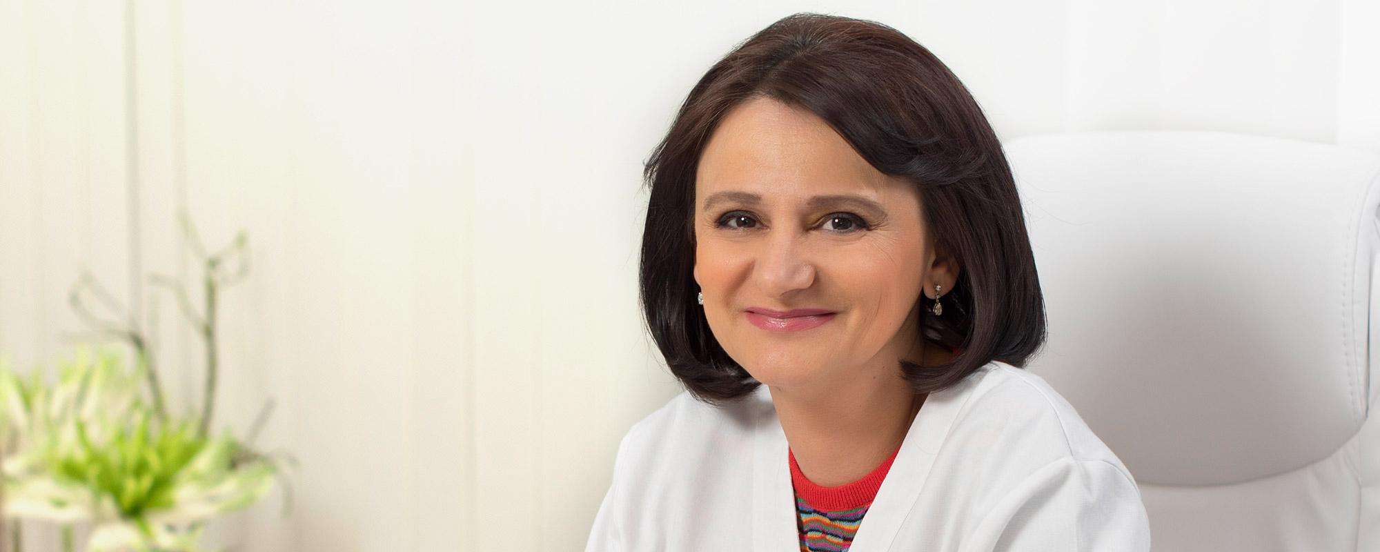 <span>Clinica Medicum</span> reuneste sub acelasi acoperis unii dintre <br> cei mai competenti medici din Romania. <br> <span>Dr. Iordache Viviana</span>