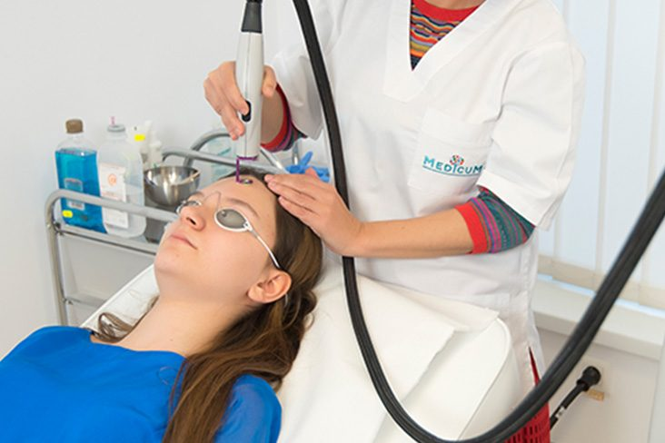 Tratamente cu diverse surse de radiatii LASER, lumina inalt pulsata, radiofrecventa - Clinica Medicum