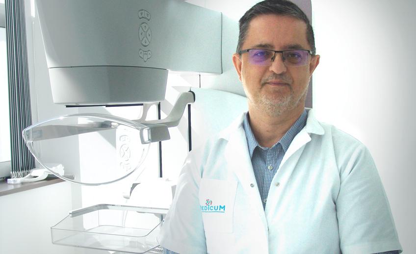 Noi tehnici de diagnostic a cancerului mamar, mamografia cu substanta de contrast
