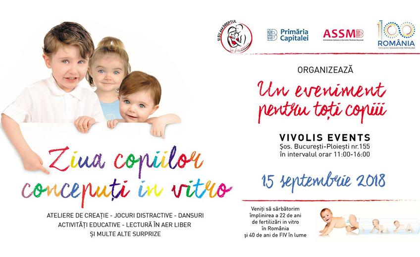 Ziua copiilor conceputi in vitro