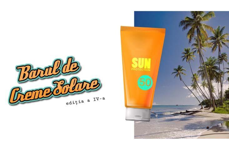 barul de creme solare protectie solara - clinica medicum