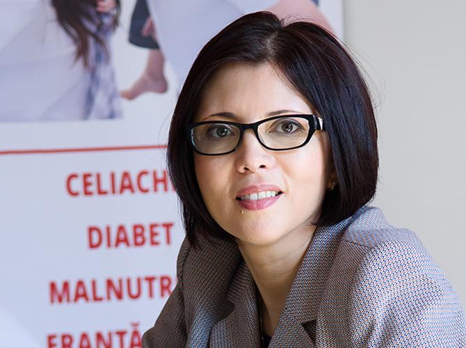 Maria Martac - Biolog, consultant in nutritie, Health Coach